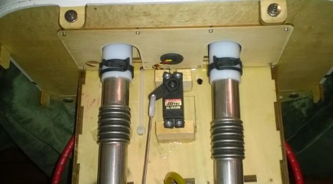 100cc Extra 260 KS Canister Install